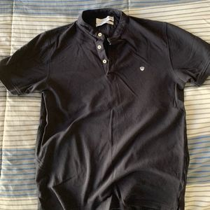 Zara mens short polo